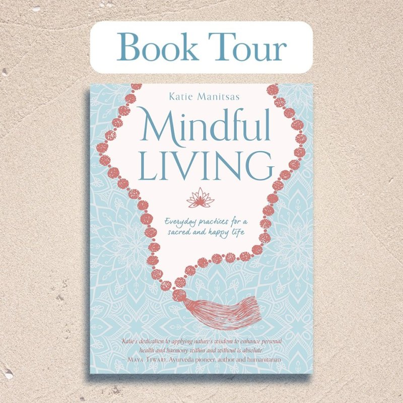 Mindful Living book tour image