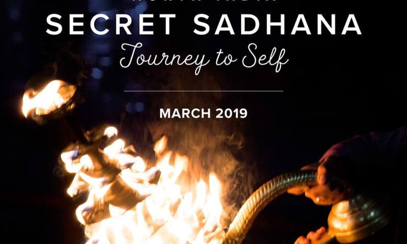Secret Sadhana fire promo