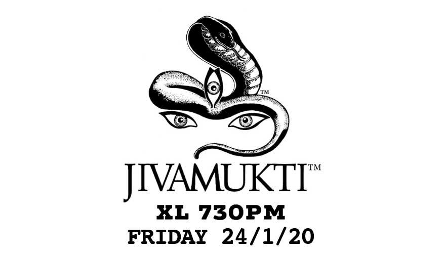 Jivamukti XL class brand logo
